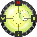 Kompass Wasserwaage